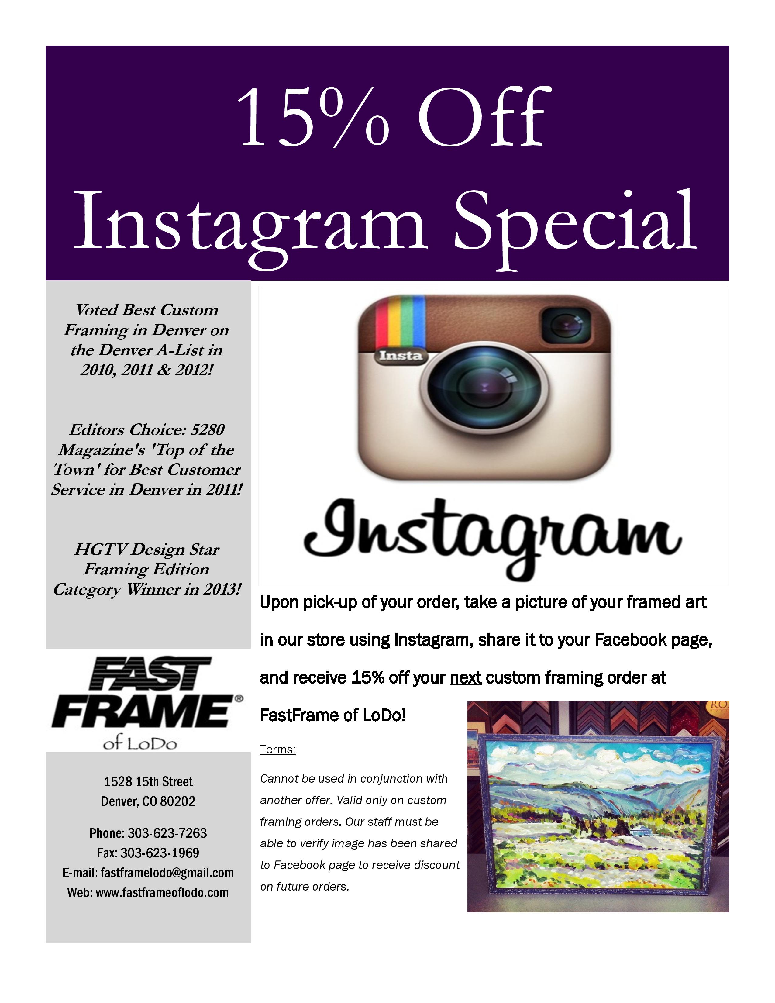 15 off instagram special fastframe of lodo expert picture framing. Black Bedroom Furniture Sets. Home Design Ideas