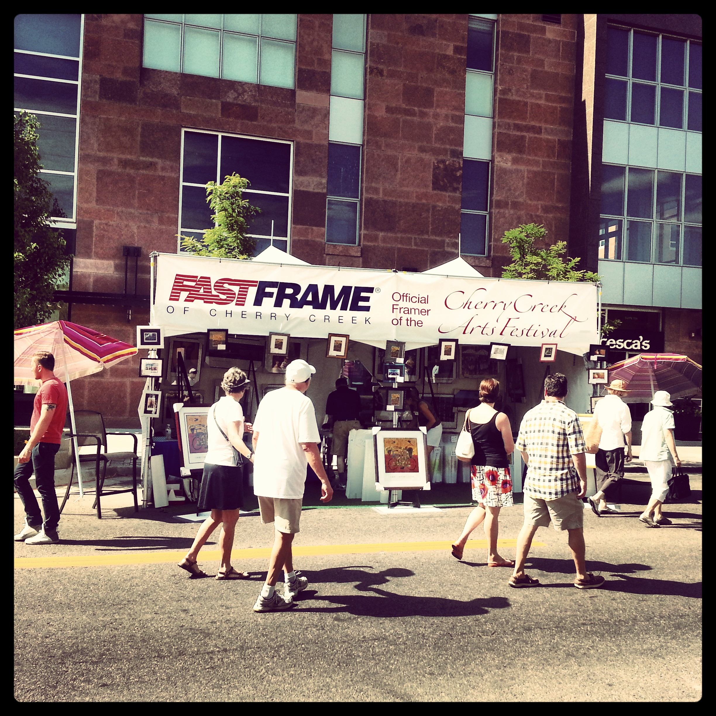 Cherry Creek Arts Festival | FastFrame of LoDo - Expert Picture Framing
