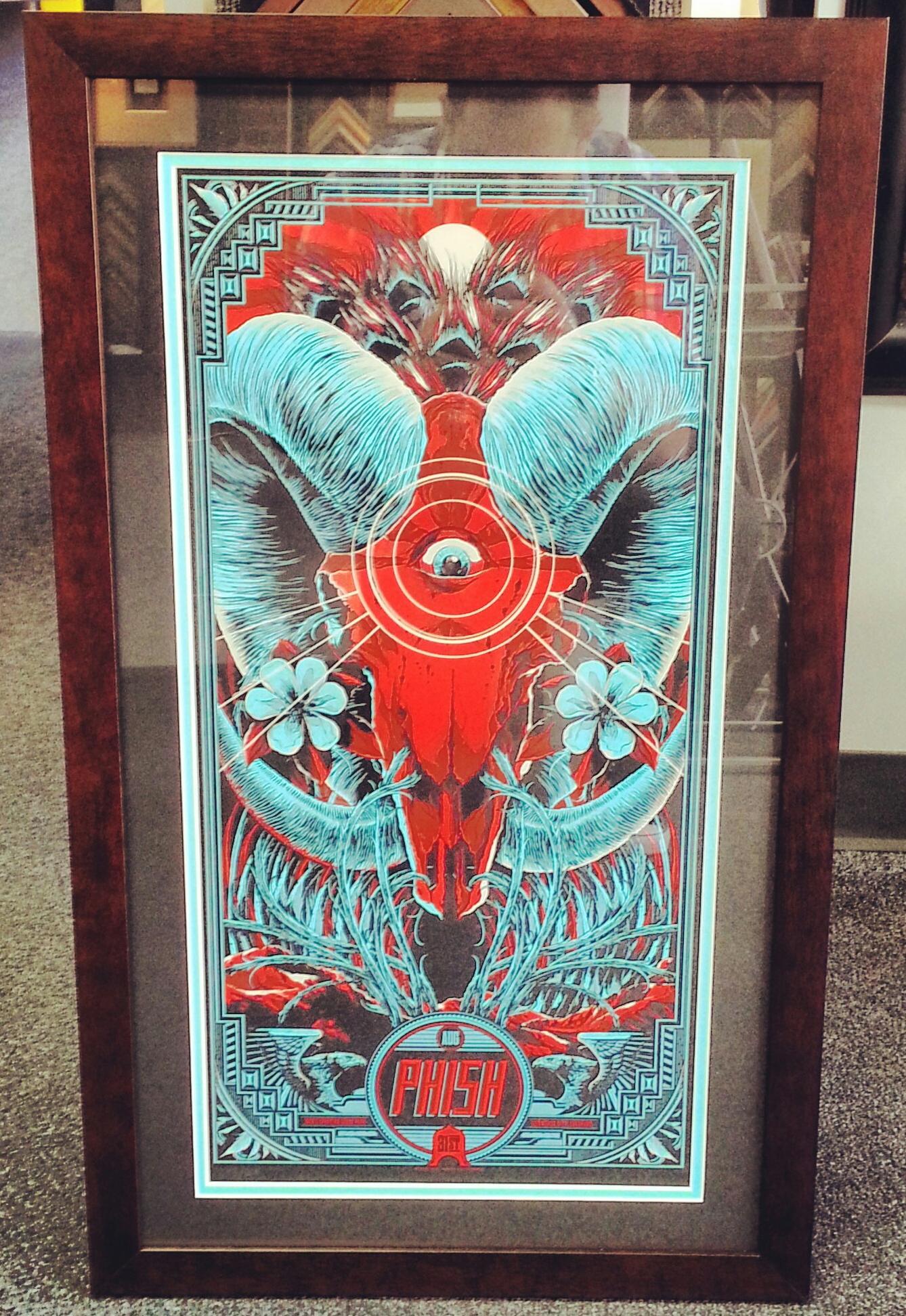 Custom movie poster frame