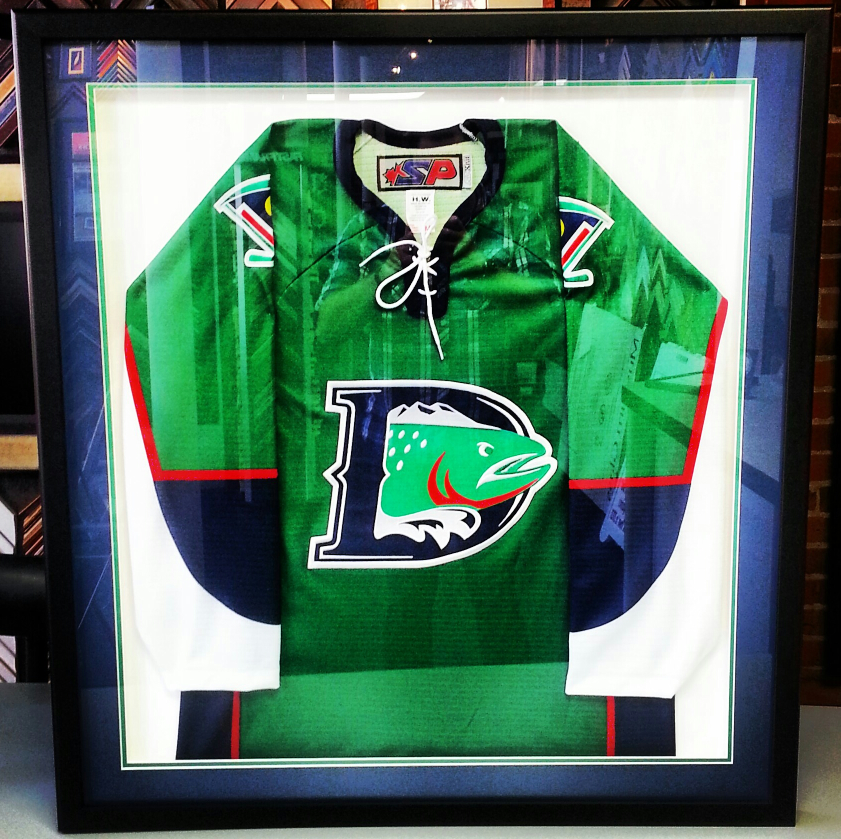 hockey jersey frame denver