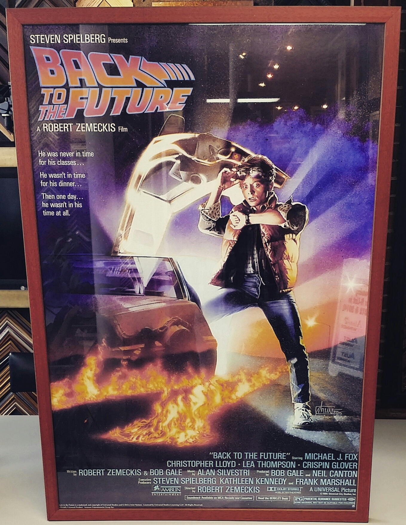 Back To The Future Framed Poster | FastFrame of LoDo - Expert ...