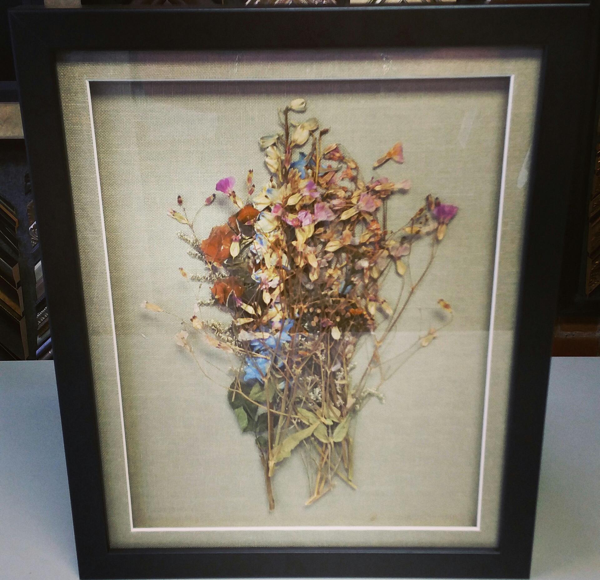 Custom Framed Flowers | FastFrame of LoDo - Expert Picture Framing