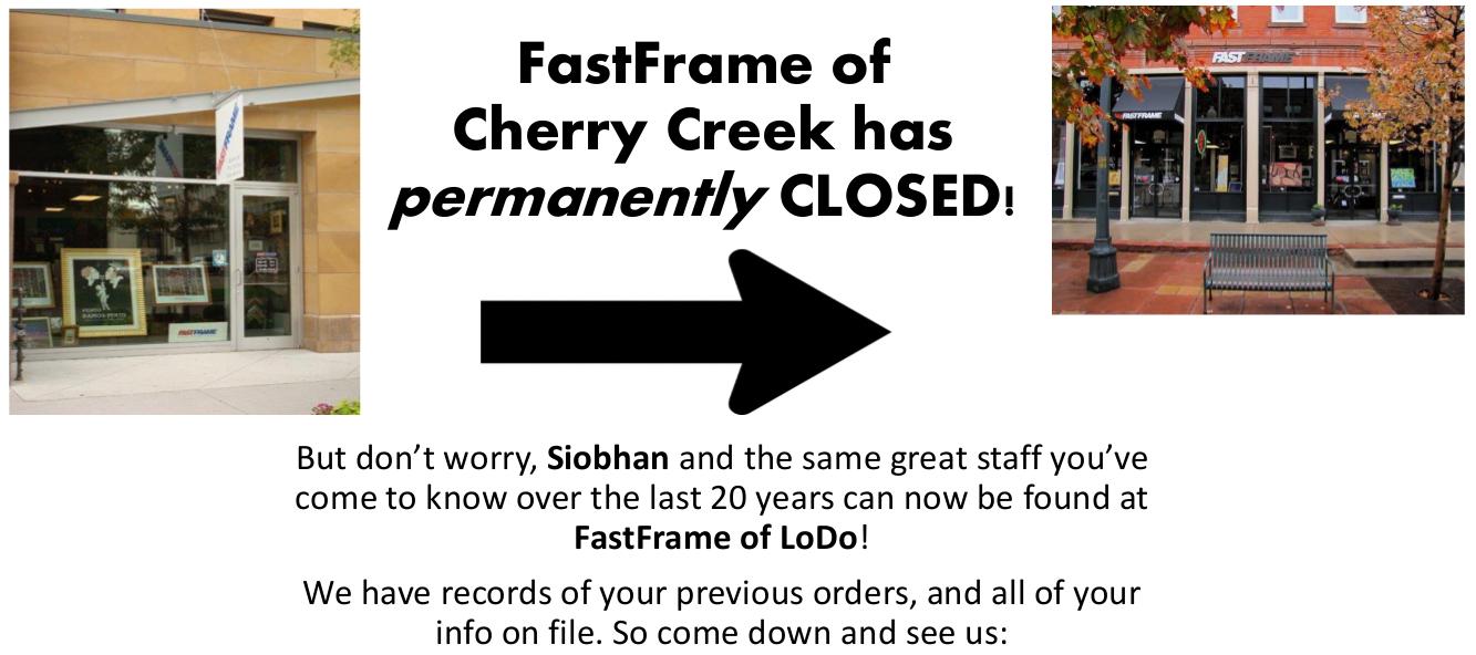 Tolle Cherry Creek Framing Bilder - Benutzerdefinierte Bilderrahmen ...