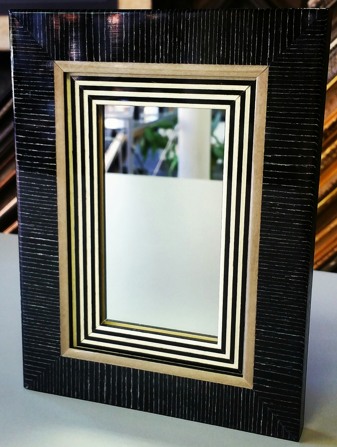 Amazoncom Wood Framed Mirrors