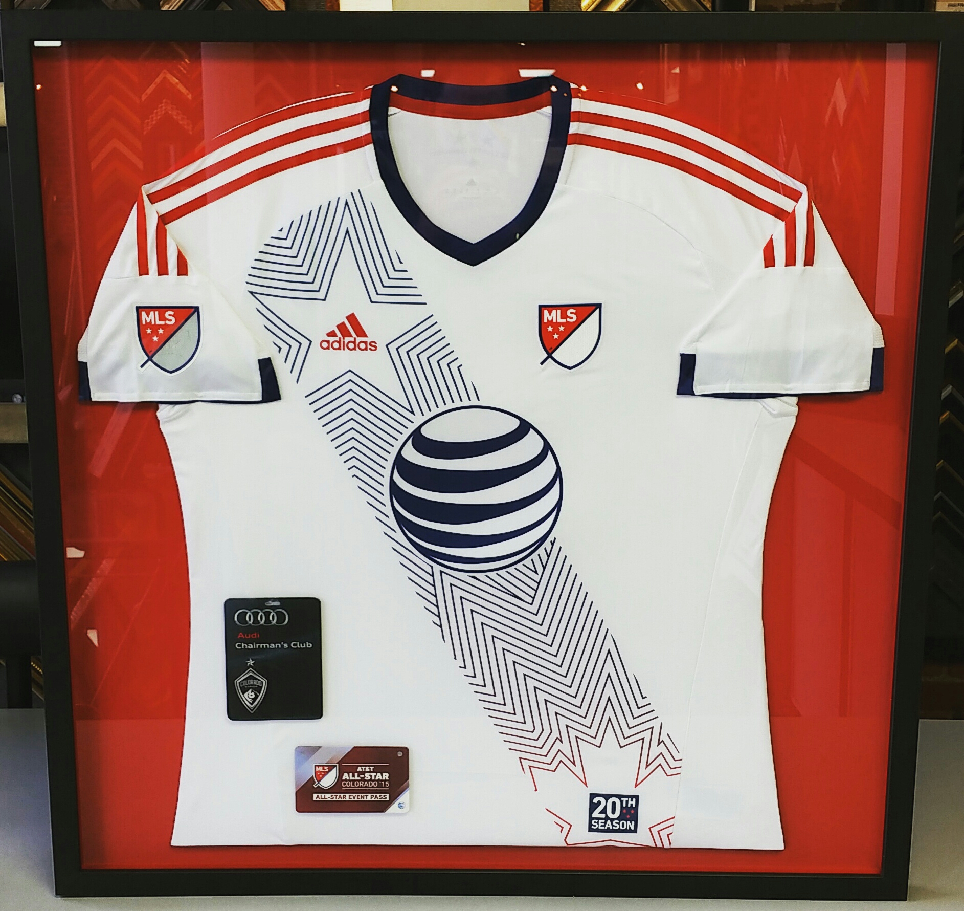 Sports Jersey Frames Denver | FastFrame of LoDo - Expert Picture Framing