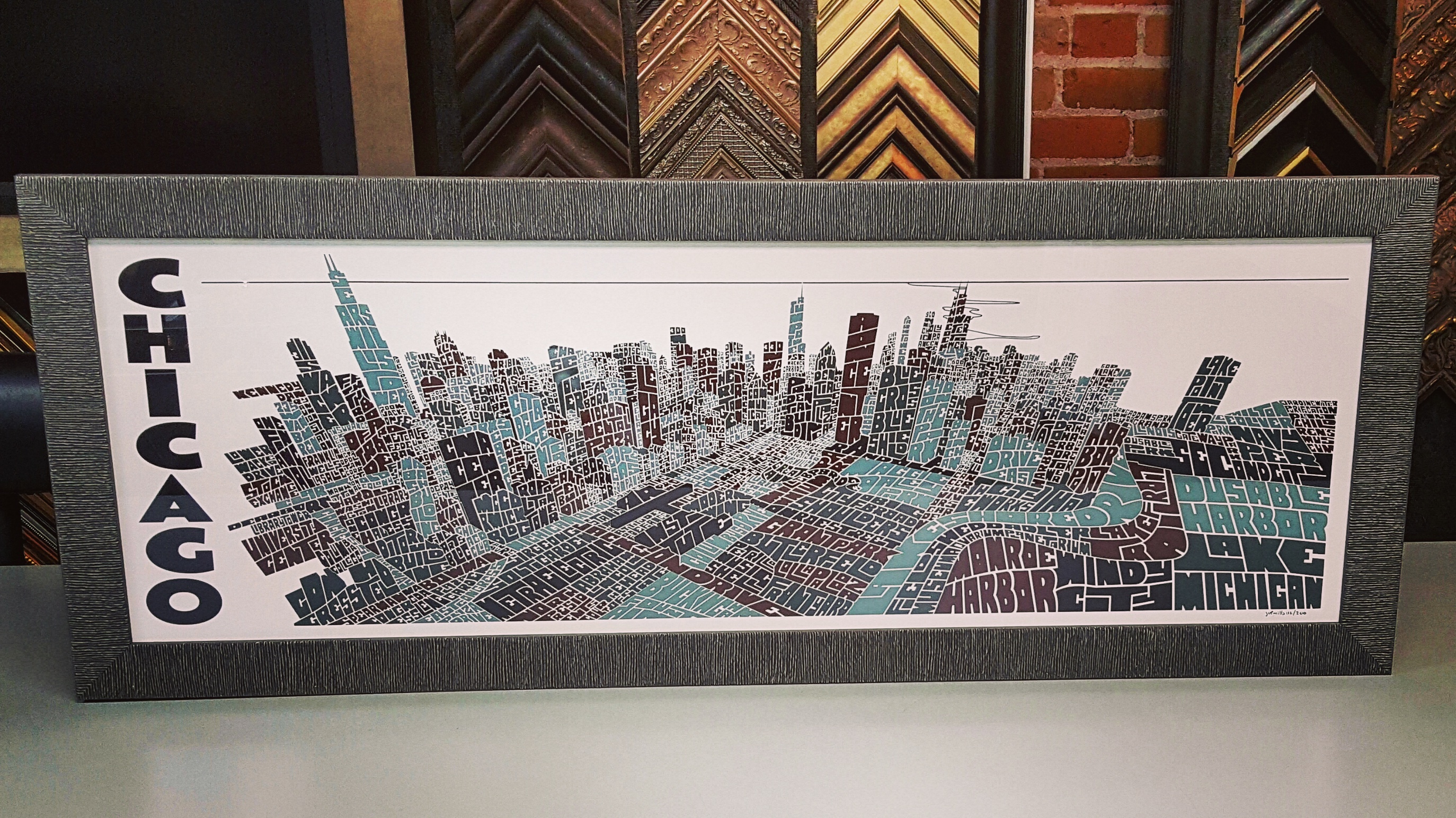 Poster framing chicago
