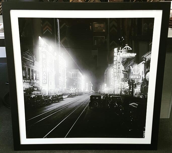 Custom Framed Vintage Photos of Denver