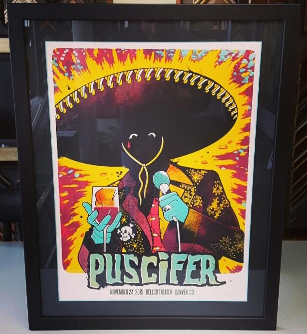 Art & Concert Poster Picture Frames Denver