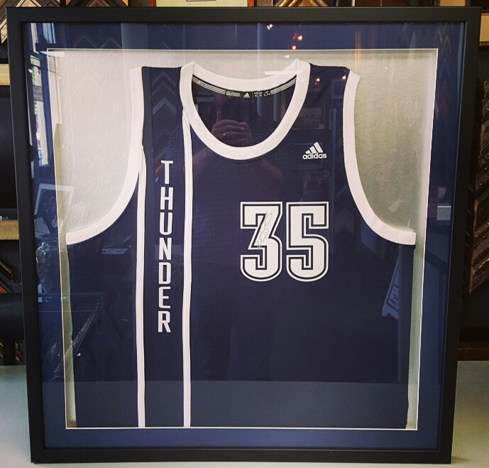 Sports Displays Jersey Framing Denver