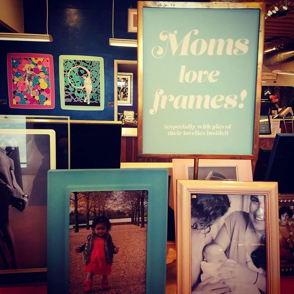 Mother's Day Custom Picture Frames Denver