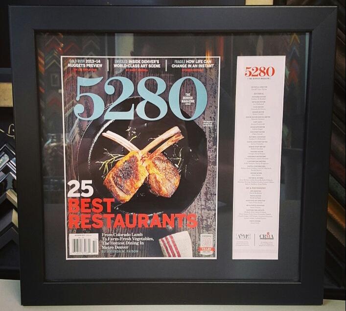 Magazine & Newspaper Picture Frames Denver