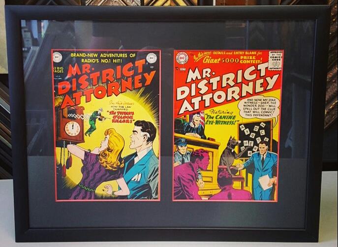 Denver Comic Con Art Framers!