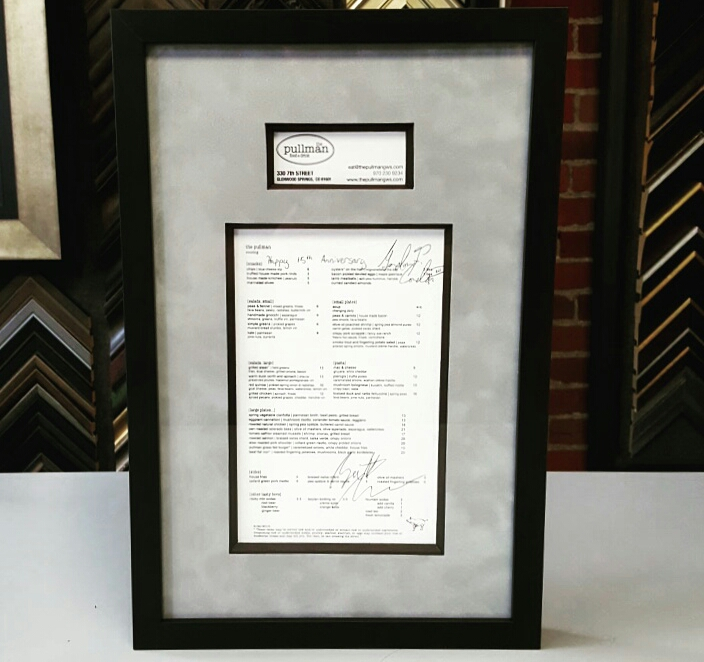 Wedding & Anniversary Framing Denver