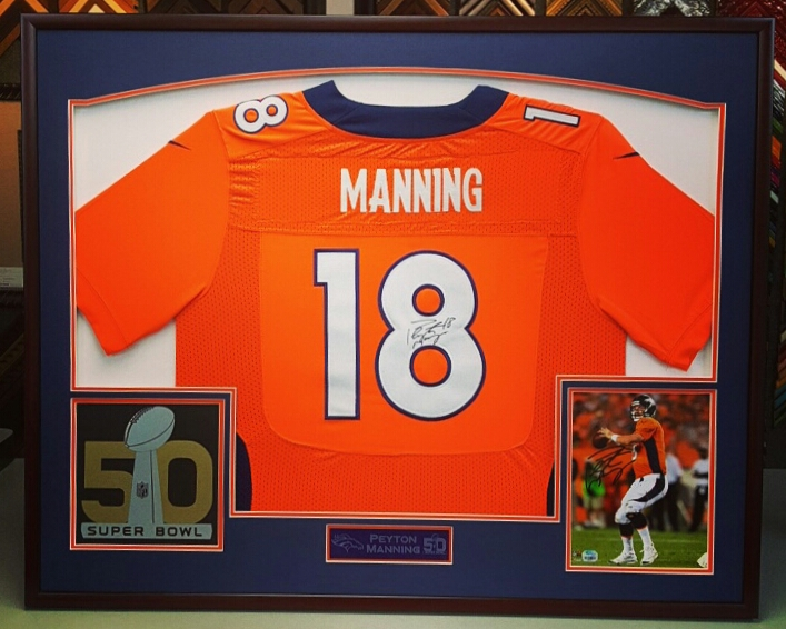 Sports Displays & Jersey Framing Denver