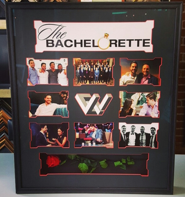 The Bachelorette Shadowbox Featuring JJ Lane