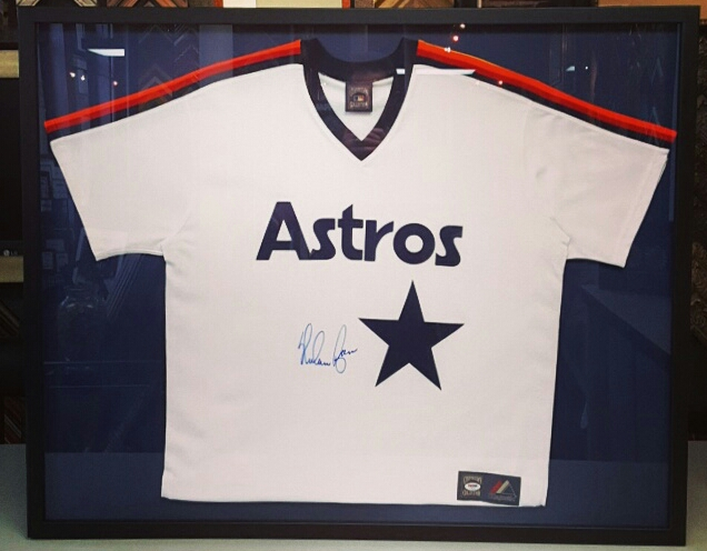 Sports Jersey Picture Framing Denver | FastFrame of LoDo - Expert ...