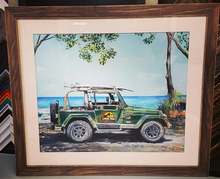 Watercolor Custom Picture Frames Denver