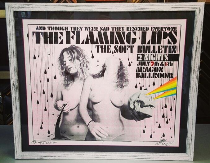 Concert Poster Frames Denver