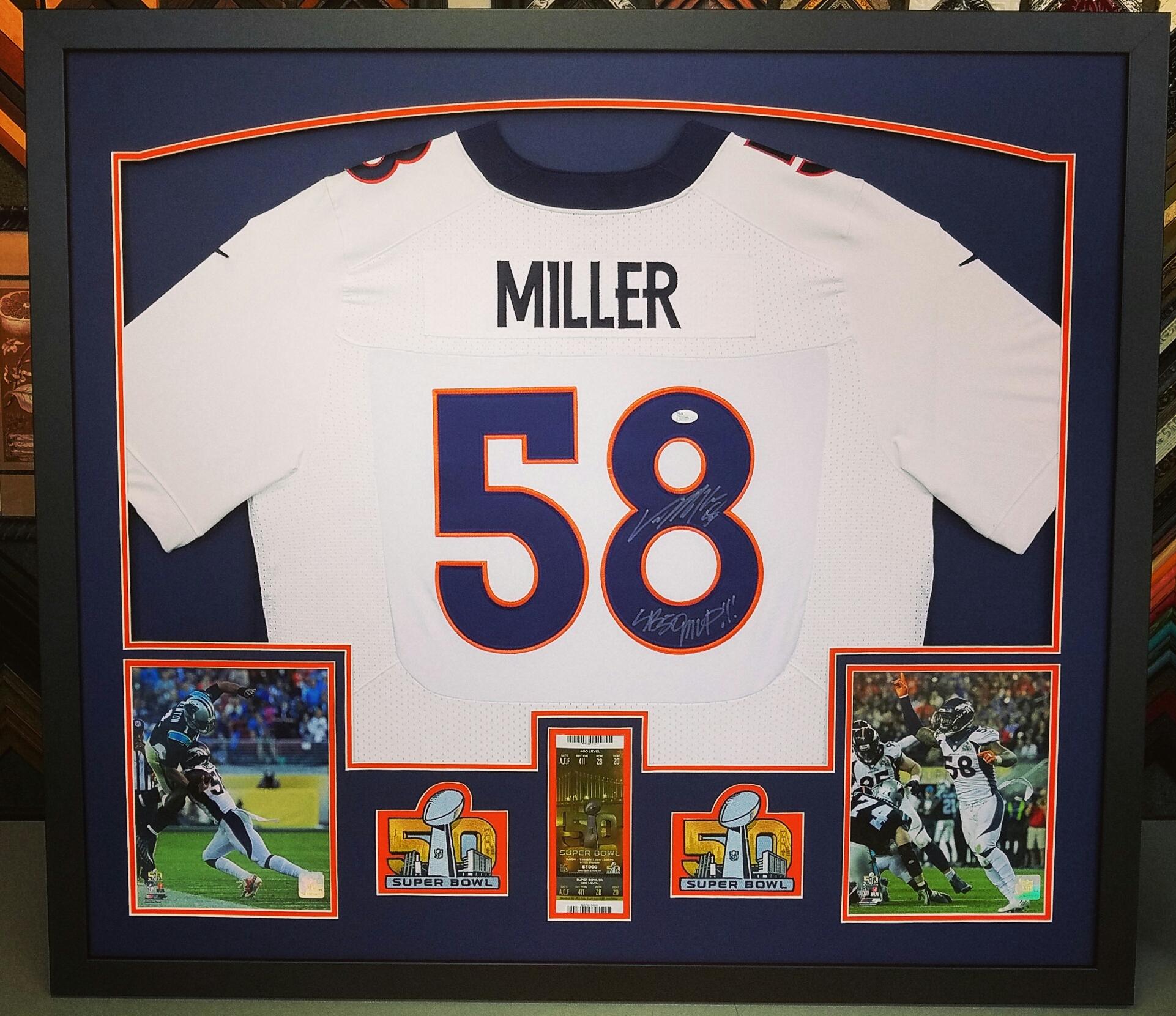 Denver's Premier Sports Jersey Framer
