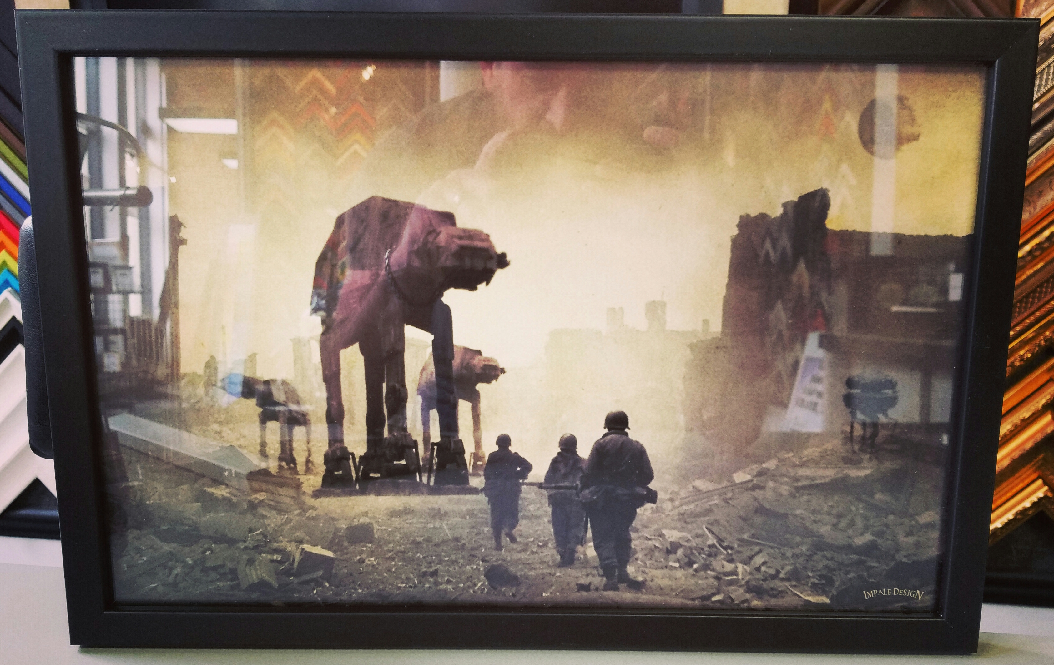 Star Wars Framed Artwork Denver