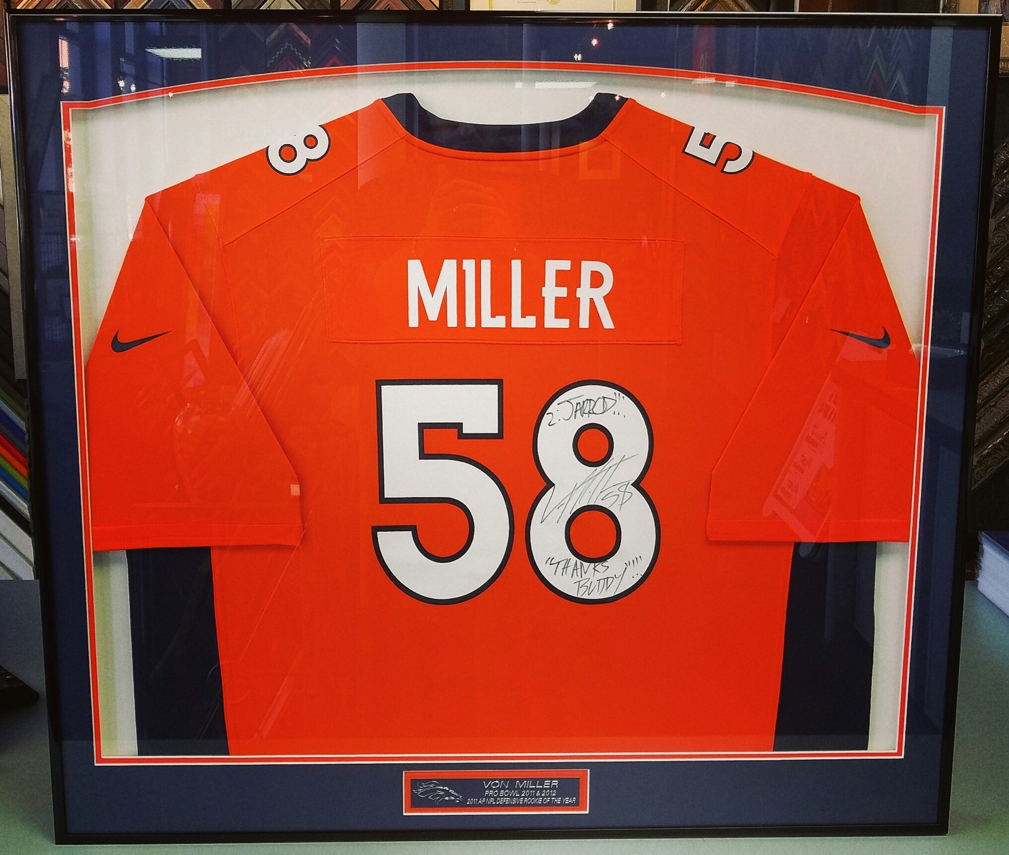 Sports Framing Denver