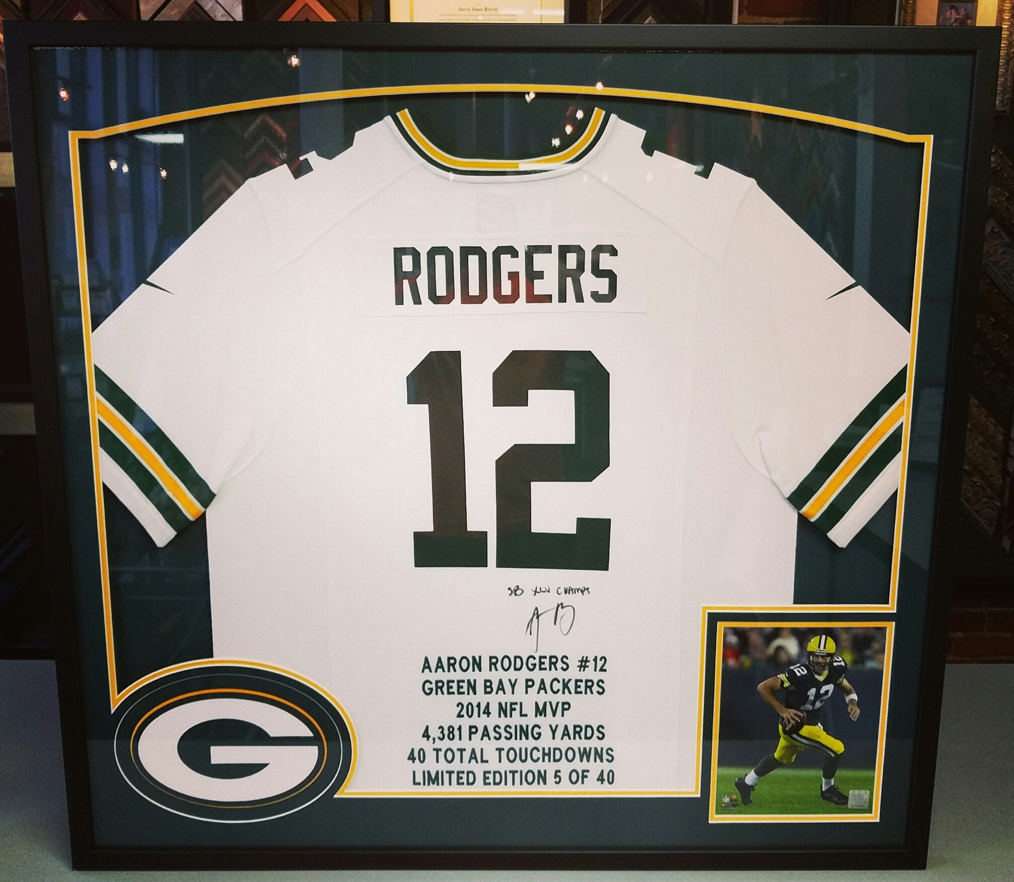 Green Bay Packers | FastFrame of LoDo - Expert Picture Framing