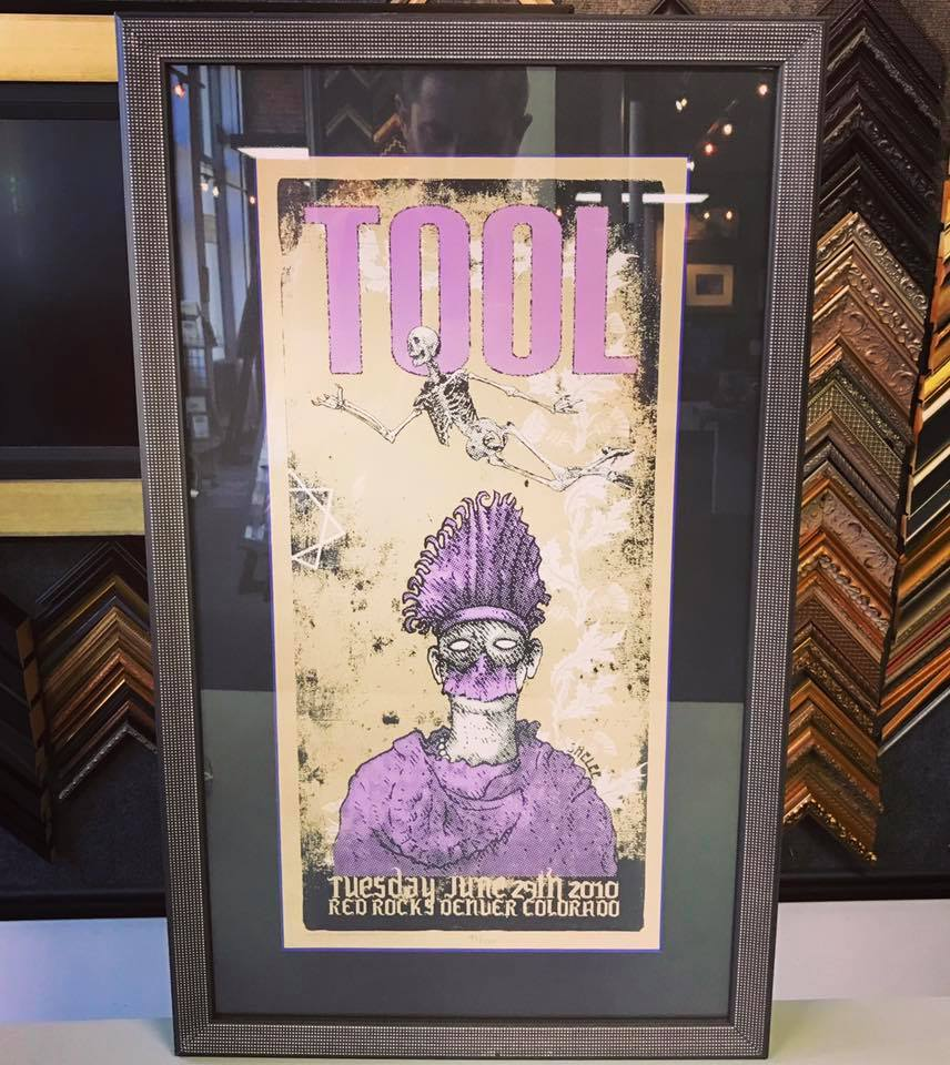 Album & Concert Poster Framing Denver