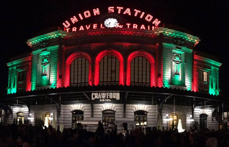 Grand Illumination of Denver's Union Station