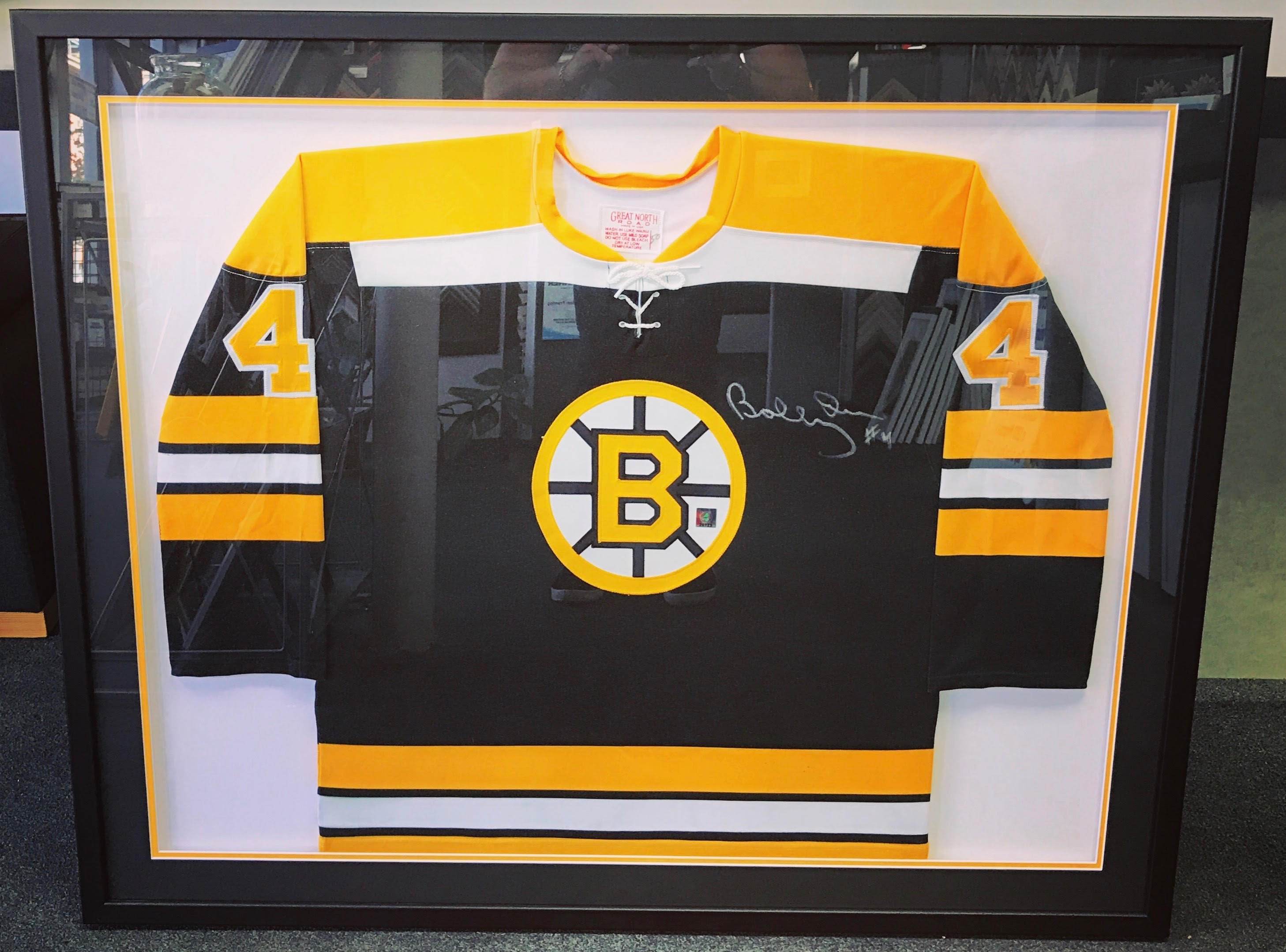 Custom Jersey Framing Denver
