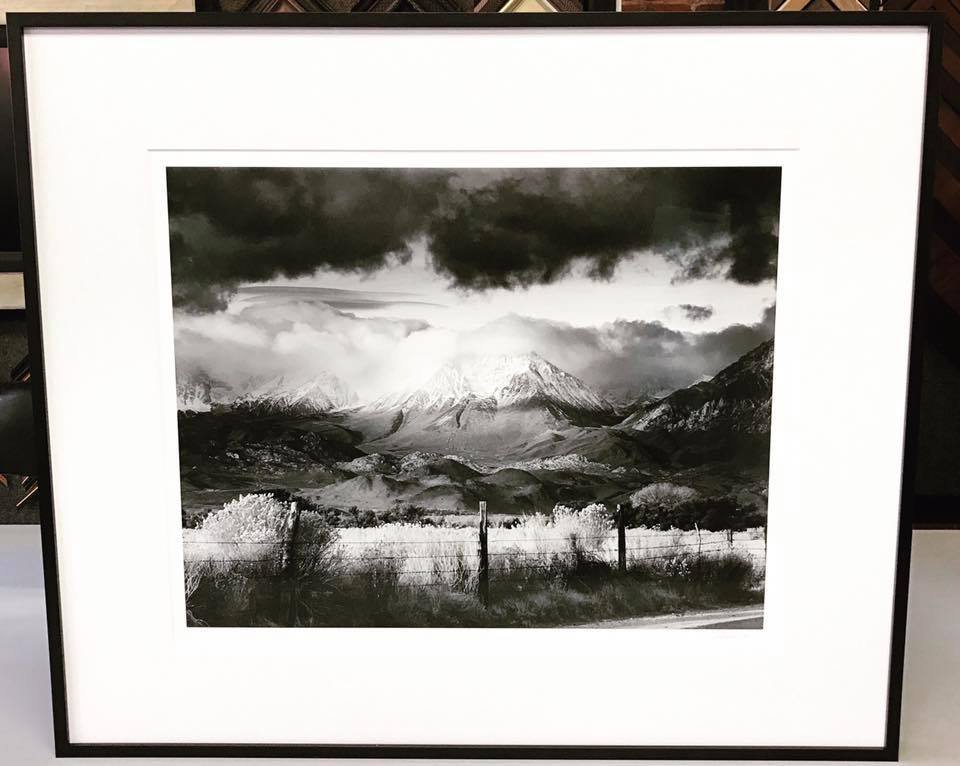 Custom Framed Photography Denver