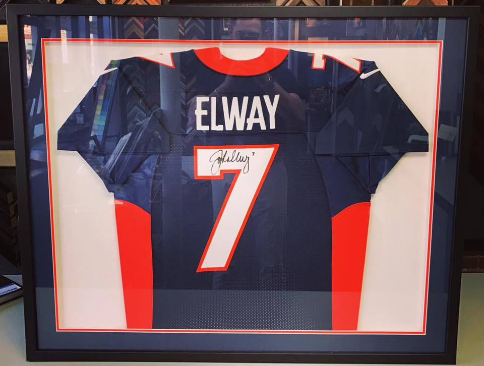 Sports Jersey Displays Denver