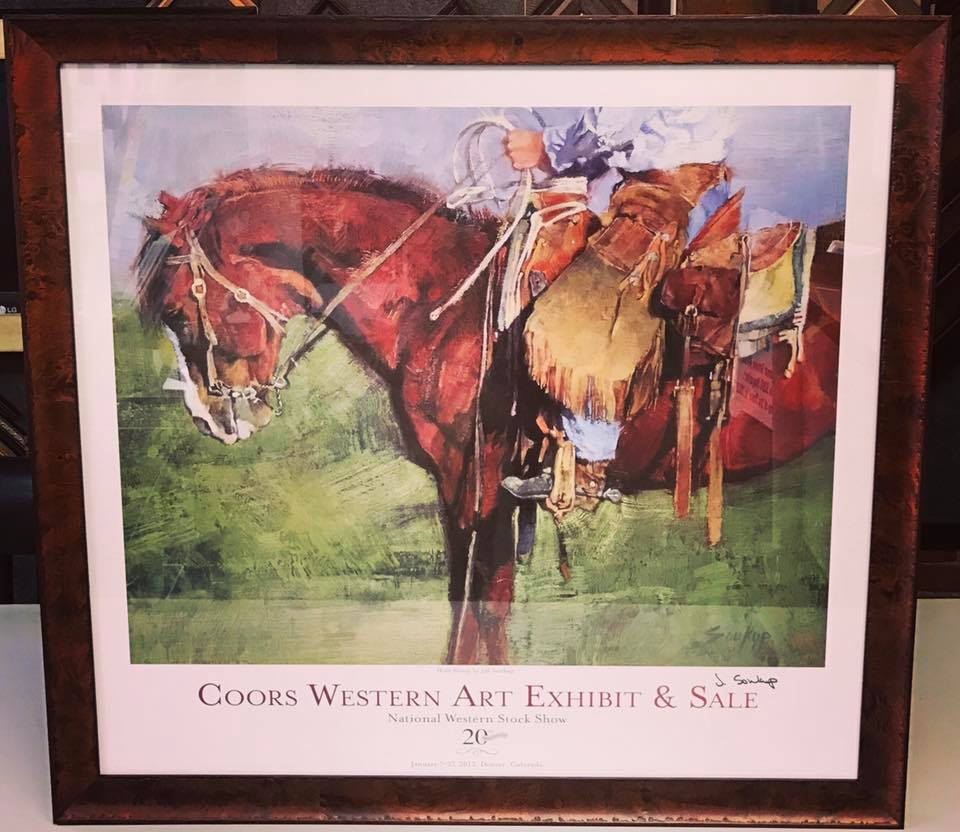 National Western Stock Show Picture Framing