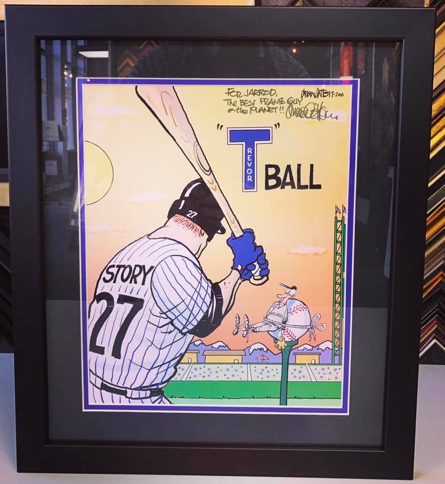 Drew Litton Colorado Rockies Art