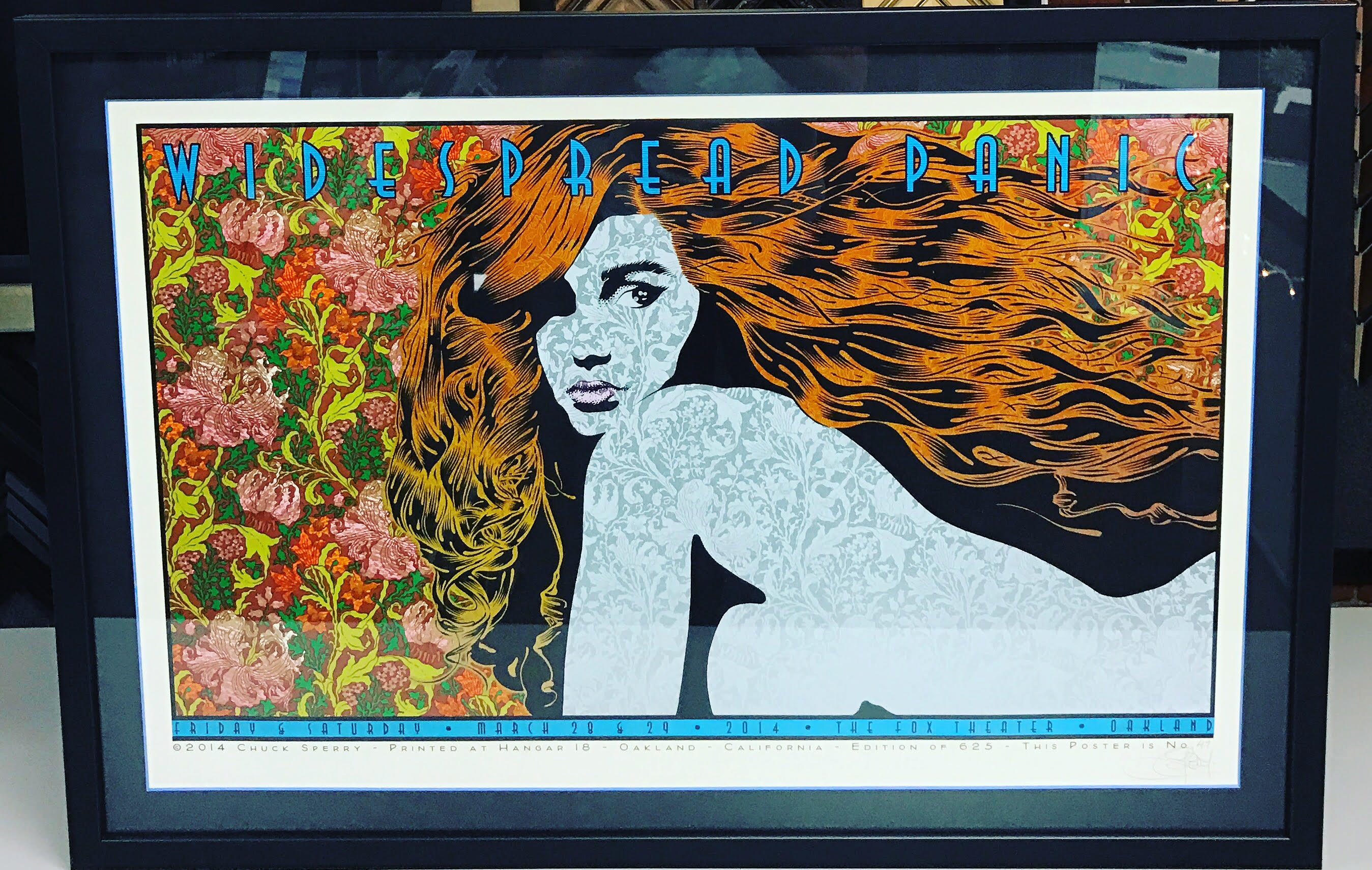 Concert Poster Framing Denver