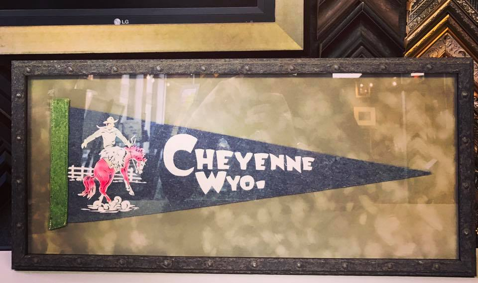 Custom Framed Pennant