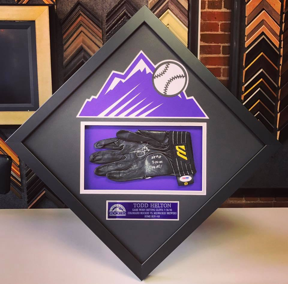 Sports Picture Framing Denver