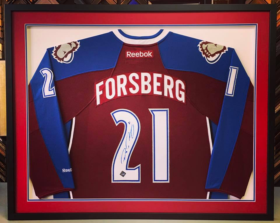 Custom Sports Jersey Framing Denver
