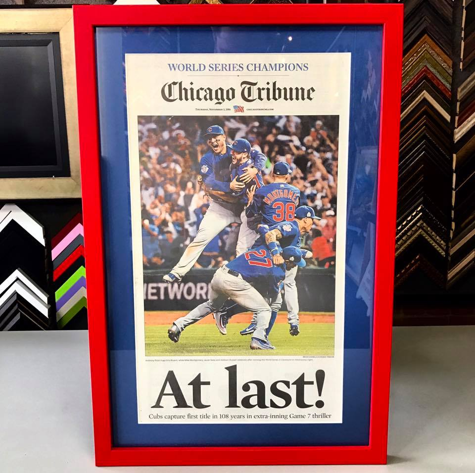 Custom Sports Framing Denver