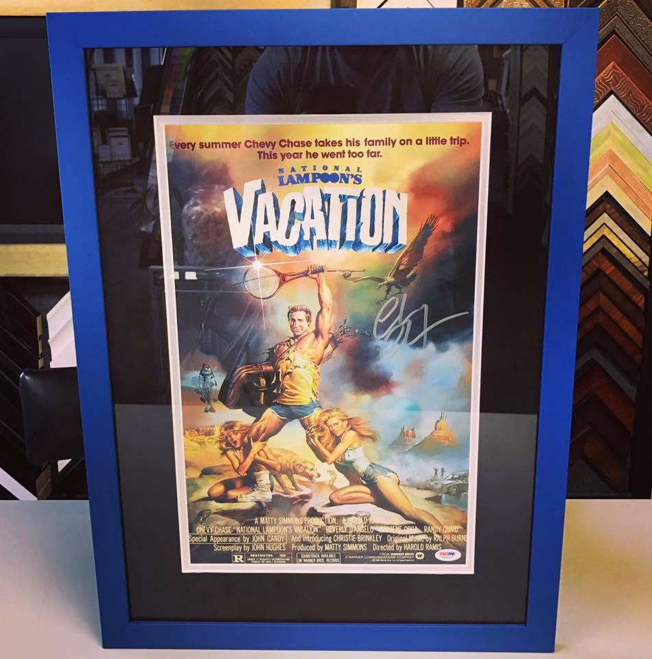 Custom Movie Poster Framing Denver