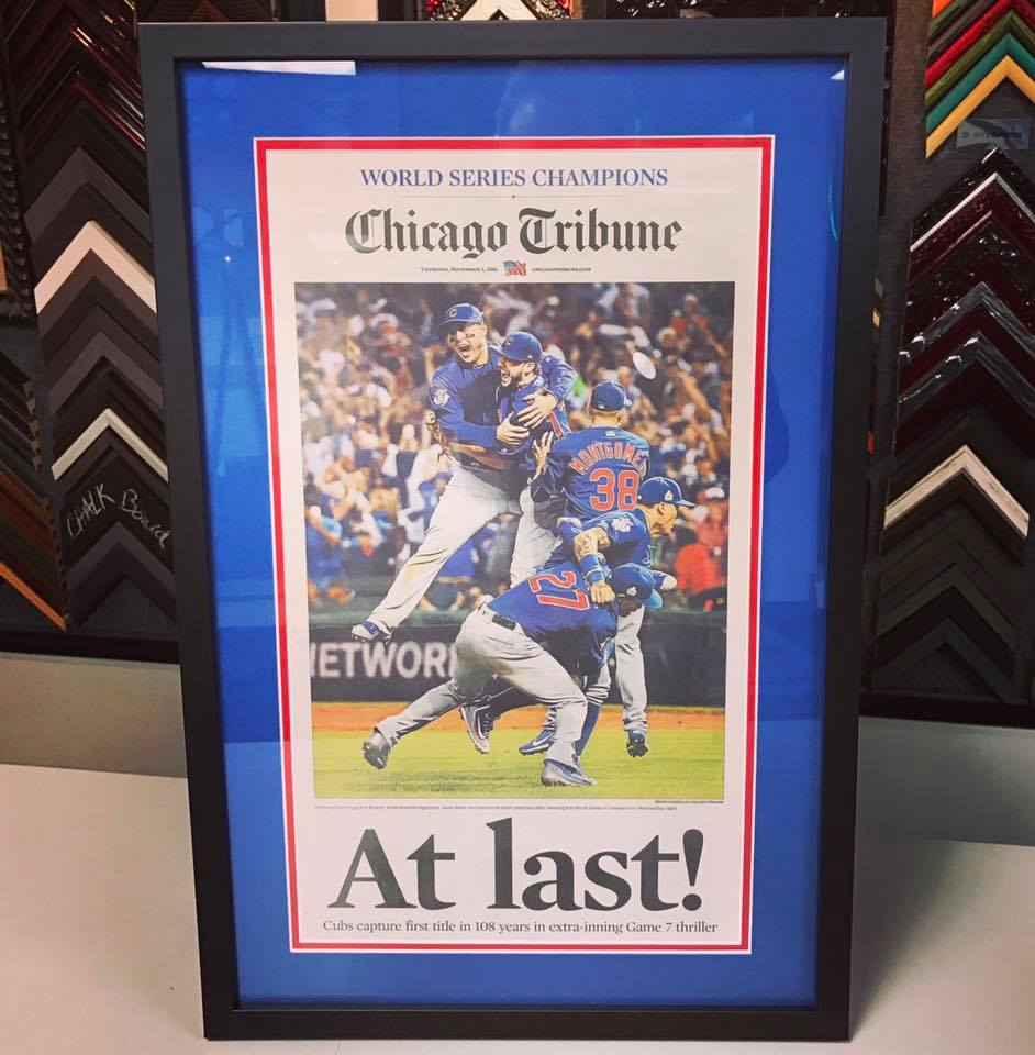 Sport Item Framing Denver