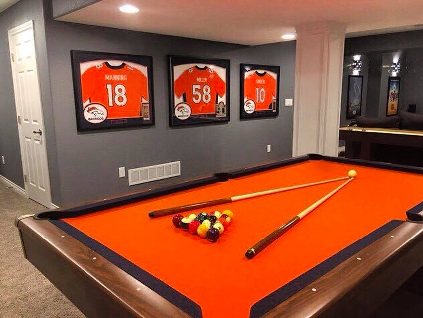 Sports Jersey Frames Denver Broncos
