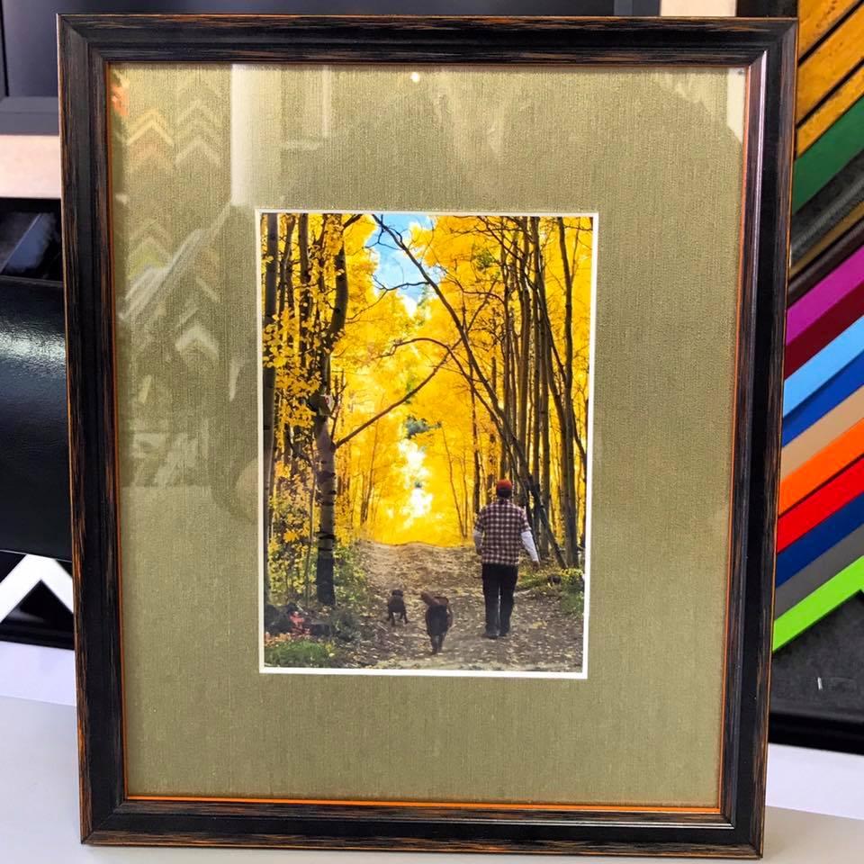 Custom Photography Framing Denver