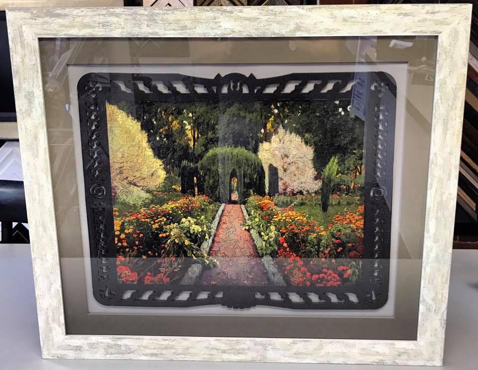 Custom Framed Puzzle Denver
