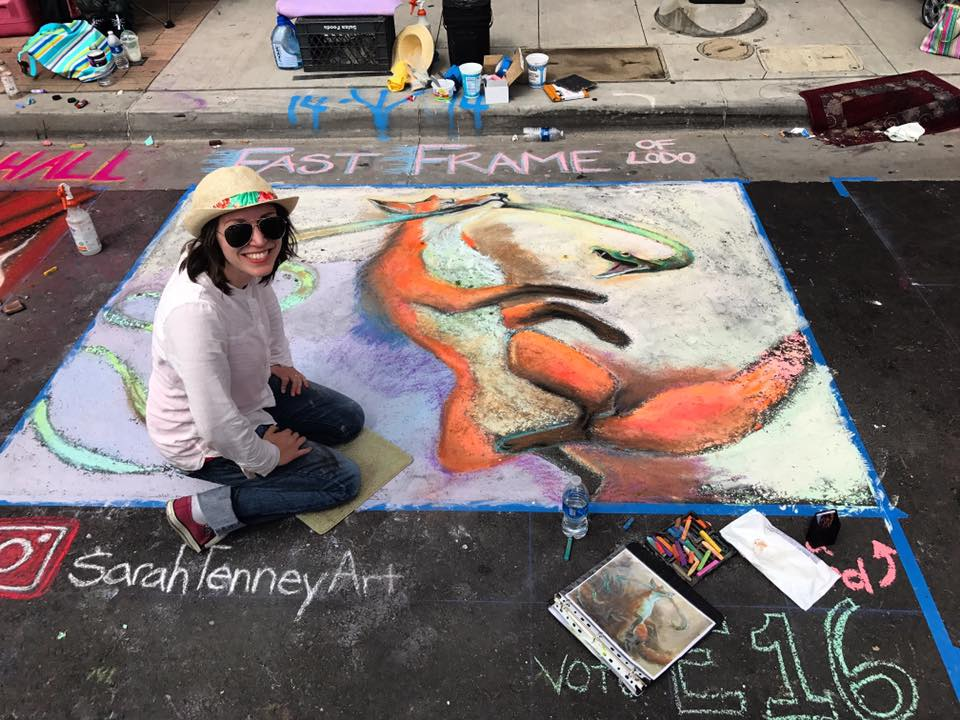 Denver Chalk Art Festival - FastFrame of LoDo