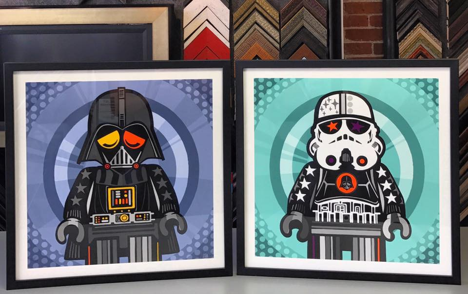 Star Wars Picture Framing Denver