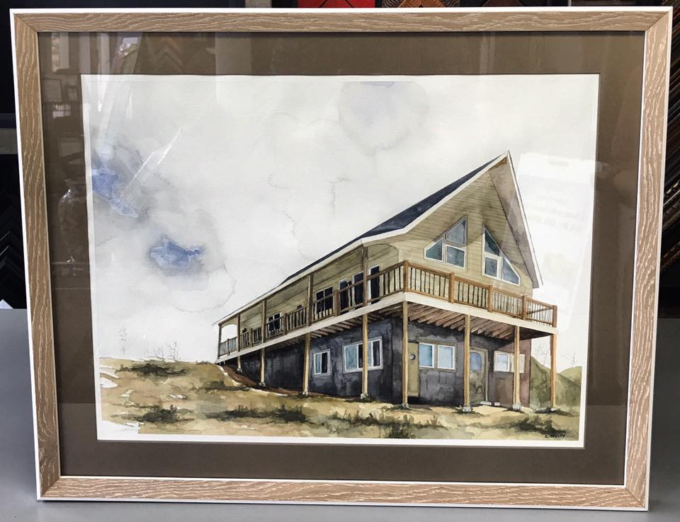 Watercolor Custom Framing Denver