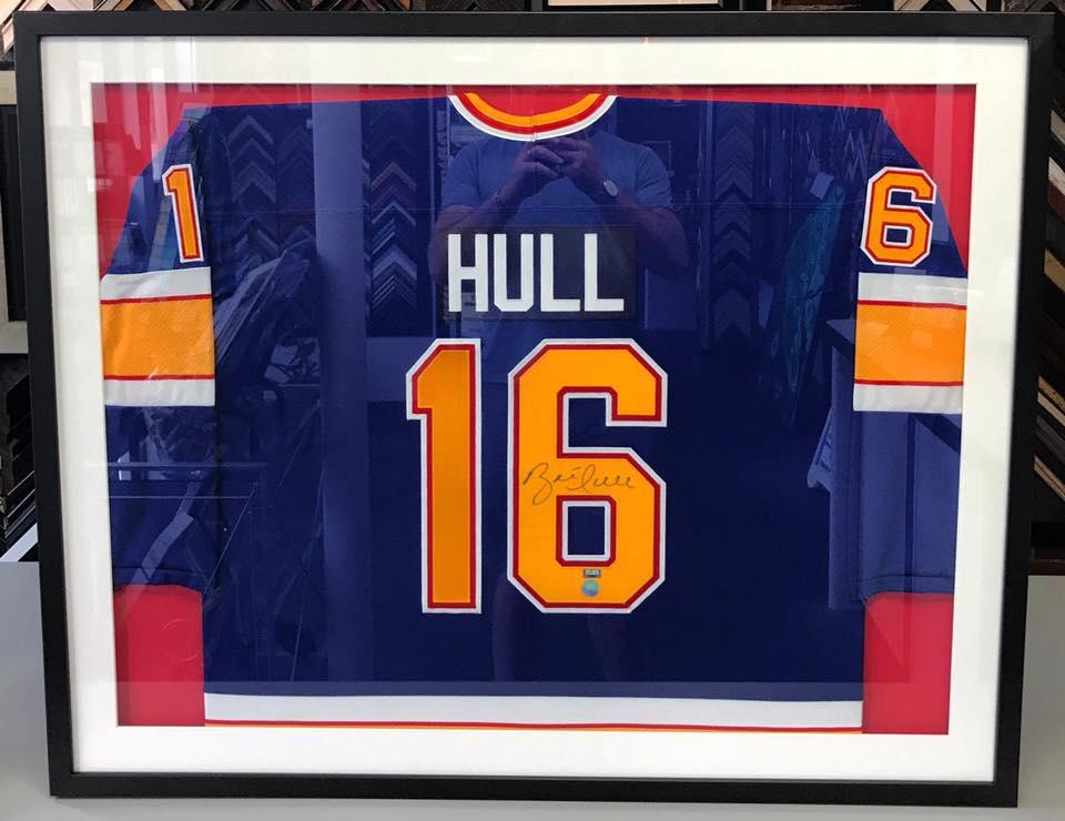 Hockey Jersey Framing Denver