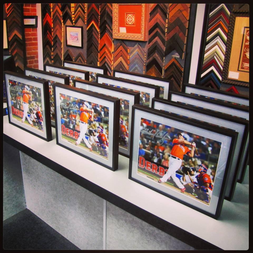 Sports Picture Framing Denver