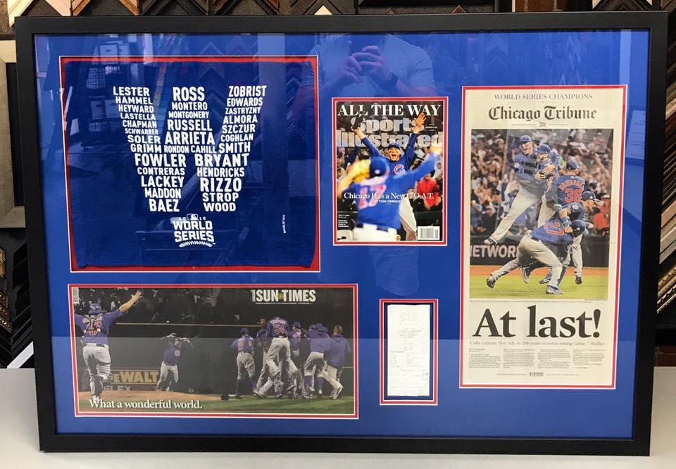 Sports Framing Denver - Chicago Cubs