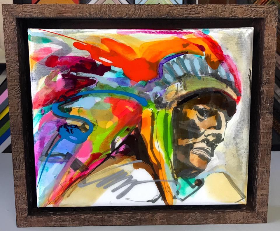 Canvas Stretching & Framing Denver